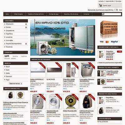 Gestión de las tiendas online
