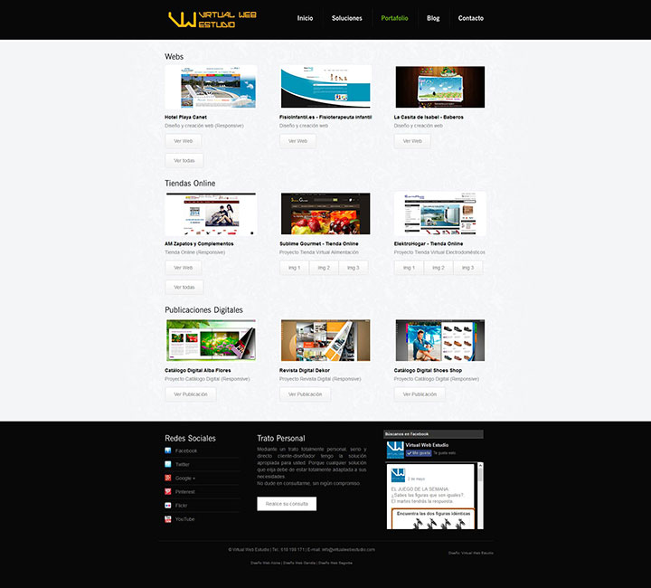 Virtual Web Estudio v.2