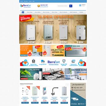 AhorroFont.com: posiblemente la fontanería online más barata de internet