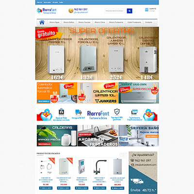 Previsi n de aumento en ventas online virtual web estudio for Fontaneria online